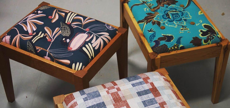 make a footstool workshop odd frog lodges
